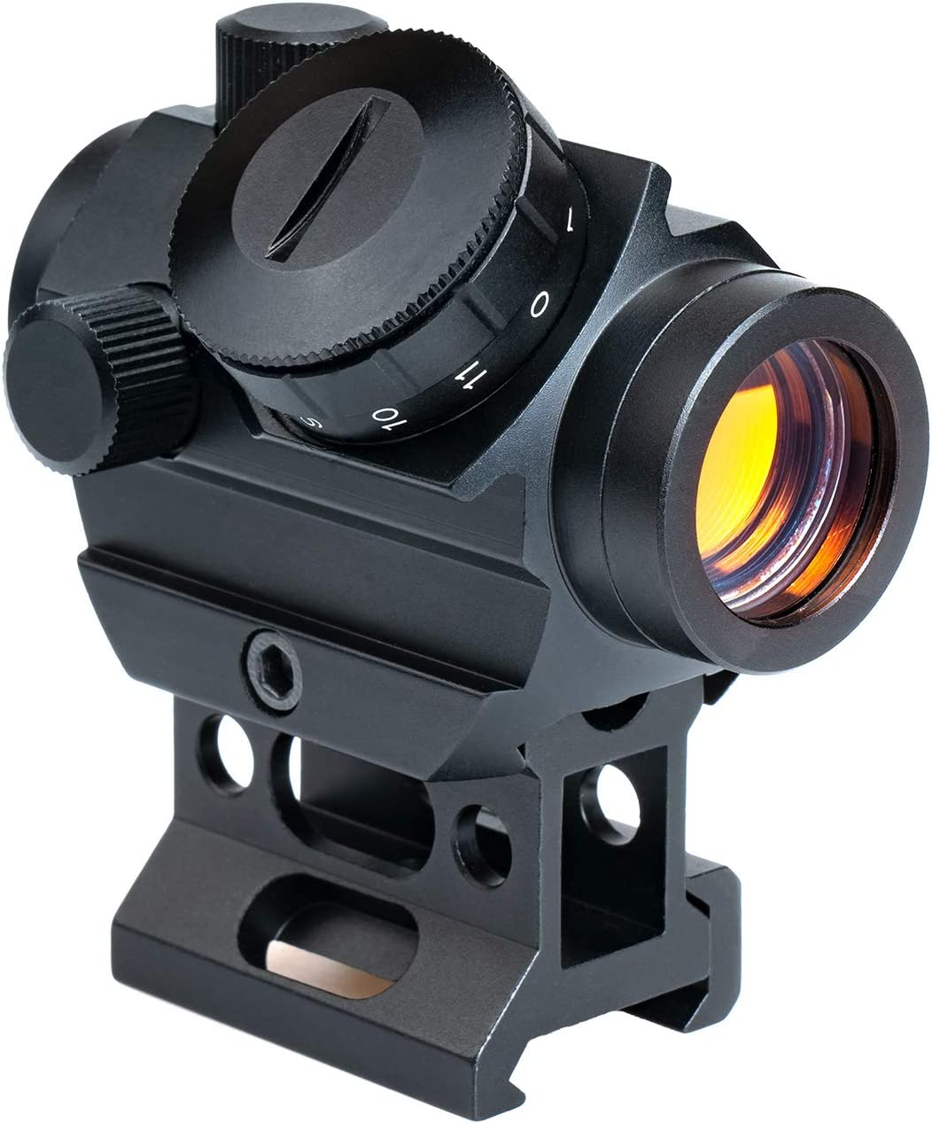 Sale Viiko Direct sale of manufacturer Red Dot Sight 2 MOA Scope Amber Lens 1x25 Coating