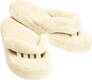 Therapeutic Toe Alignment Slippers, Ladies S (7-7 1/2), Cream (1 pair)
