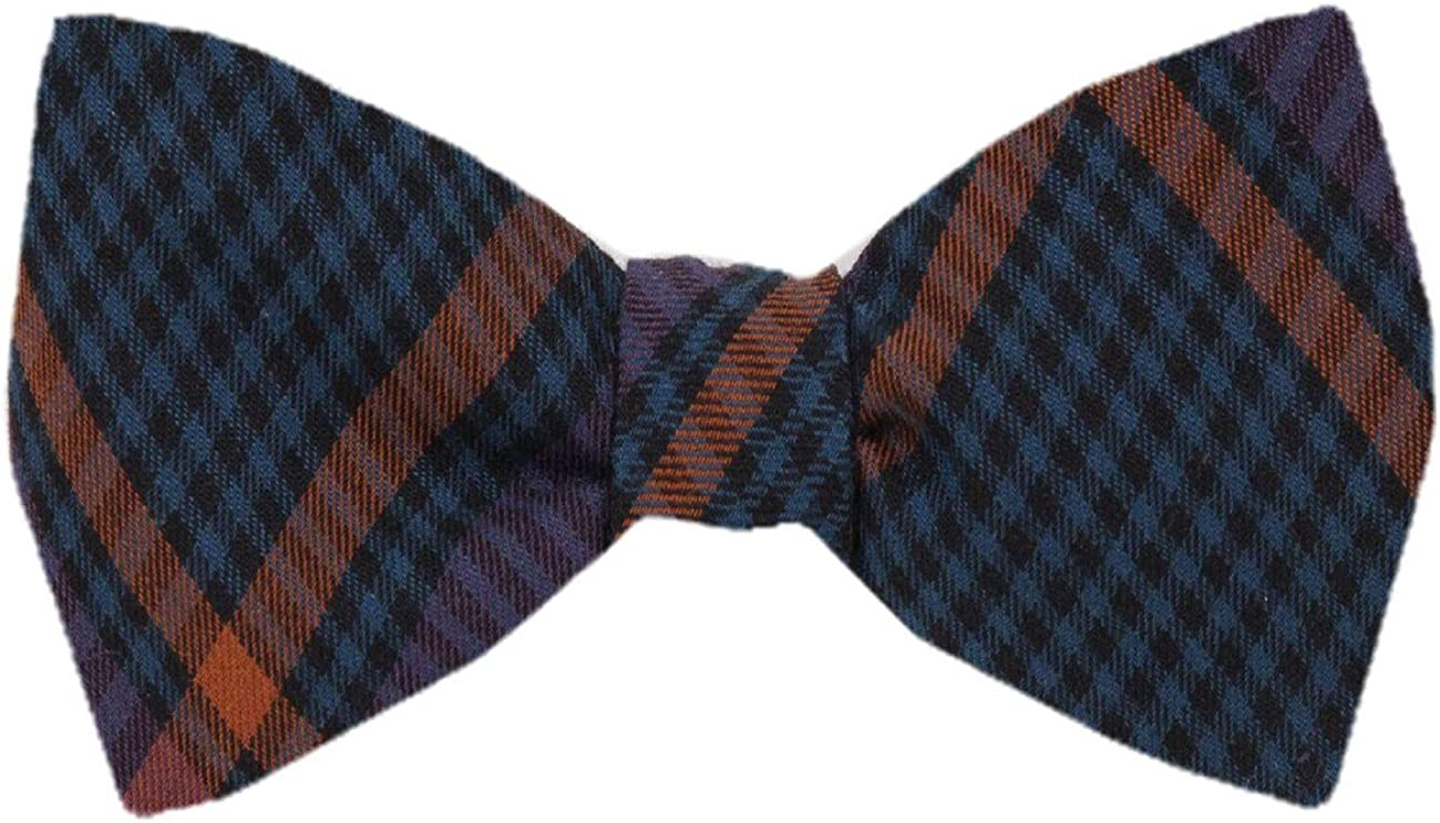 Men's Silk Fashion Designs Self Tie Bowtie Tie Yourself Bow Ties