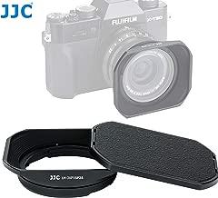 JJC LH-JXF16F28 Bayonet Metal Lens Hood for Fujinon XF 16mm F2.8 Lens, Fuji XF 16mm F2.8 Lens Hood, Compatible with FUJIFILM XF 16mm f/2.8 R WR Lens, with Slide Design Hood Cap