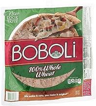 Boboli, 100% Whole Wheat Thin Pizza Crust, 10oz Package (Pack of 3)