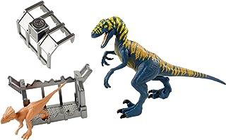 Jurassic World Destruct-A-SAURS Velociraptor & Microceratus