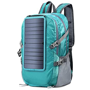 ECEEN Foldable Hiking Solar Backpack