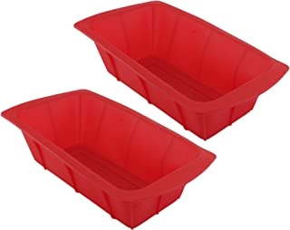 GIFTCO 8 x 4 Silicone Loaf Pan 7139-2-Pack