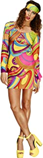 60s Flower Power Womens Costume Size M