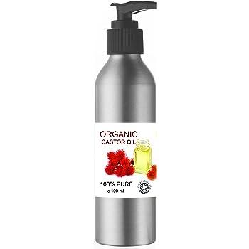 ECOLOGICO Aceite de Ricino 100% Puro Natural 100 ml - Castor Oil - Propiedades Fabulosas