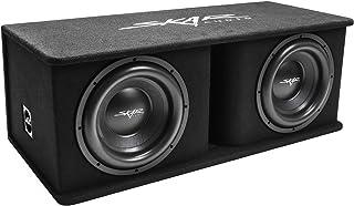 "Skar Audio Dual 12"" 2400W Loaded SDR Series Vented Subwoofer Enclosure   SDR-2X12D4"