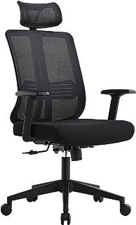Daqian Multi Function Modern Home Office Chair Ergonomic Lumbar Support Adjustable Headrest and Armrests Swivel Chair Exec...