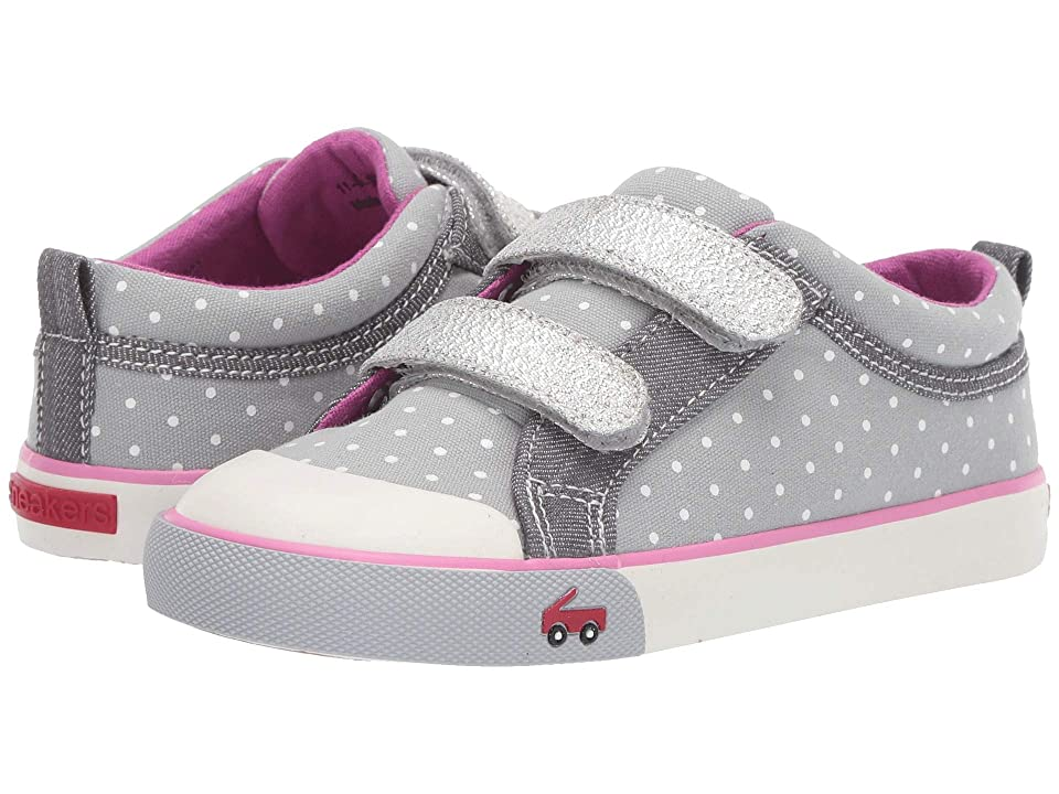 See Kai Run Kids Robyne (Toddler/Little Kid) (Gray Dots) Girl