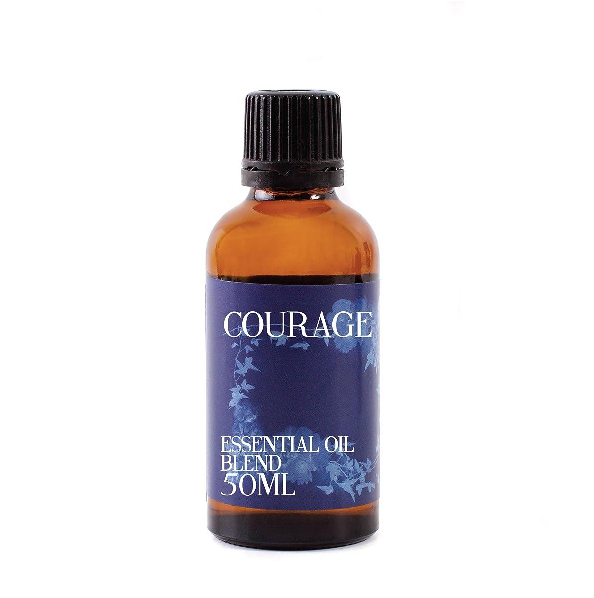 等価干し草カーフMystic Moments   Courage Essential Oil Blend - 50ml - 100% Pure