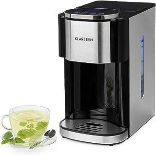Klarstein Hotcano - Distributeur d'eau Chaude, Réservoir 4 litres avec Filtre, Eau filtrée, Boîtier en INOX brossé, Tempér...