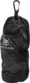 ペットボトルホルダーカバーVer.2.0【MGTRAIL】登山リュックベルトに装着ケージポケットに入るドリンクホルダー水筒ウォーターボトル折りたたみ傘も収納可(ブラック)