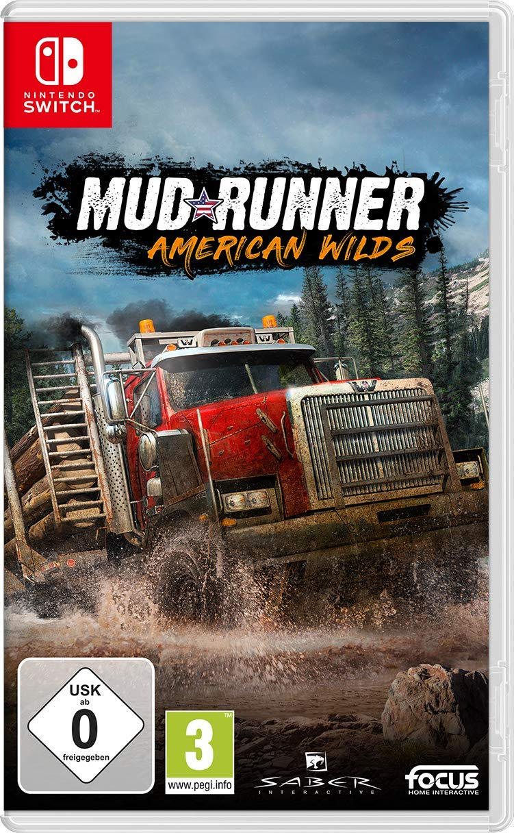 Spintires: Mudrunner American Wilds Edition (Switch) [Importación ...