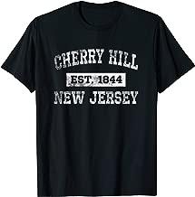 Cherry Hill New Jersey T Shirt Est. 1844 Distressed
