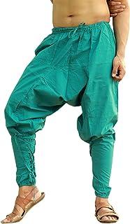 Sarjana Handicrafts Mens Womens Cotton Churidar Harem Pants Yoga Pajama Ethnic Trouser