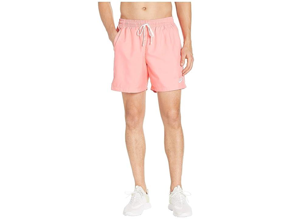 Nike NSW Woven Flow Shorts (Pink Gaze/White) Men