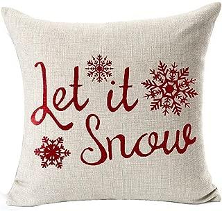 Best let it snow cushion Reviews