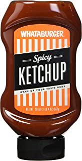 Whataburger Condiments (Pack of 1) (Spicy Ketchup 20oz)
