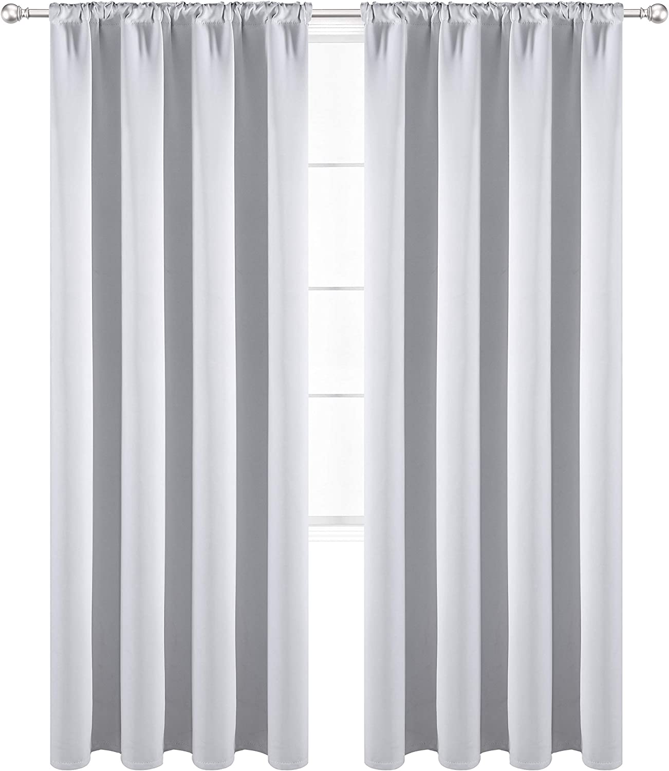 Outstanding WONTEX Thermal Insulated Blackout Curtains and Bombing new work Poc Rod Tab Back