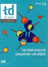 The Four Levels of Evaluation—An Update