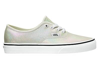 Vans Authentictm ((Pig Suede) Metallic/Blanc de Blanc) Skate Shoes