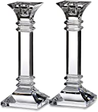 Waterford Marquis Treviso Candlestick 20cm Pair, Crystal