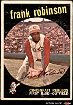 1959 Topps # 435 Frank Robinson Cincinnati Reds (Baseball Card) Dean's Cards 2 - GOOD Reds