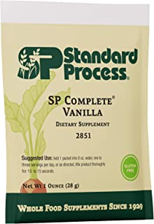 Standard Process SP Complete - Whole Food Immune Support, Liver Support, Antioxidant, and Weight Management with Rice Prot...