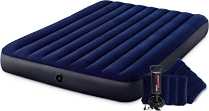 Intex Dura-Beam Standard Classic Downy Luchtbed met accessoires 152 x 203 x 25 cm multicolor
