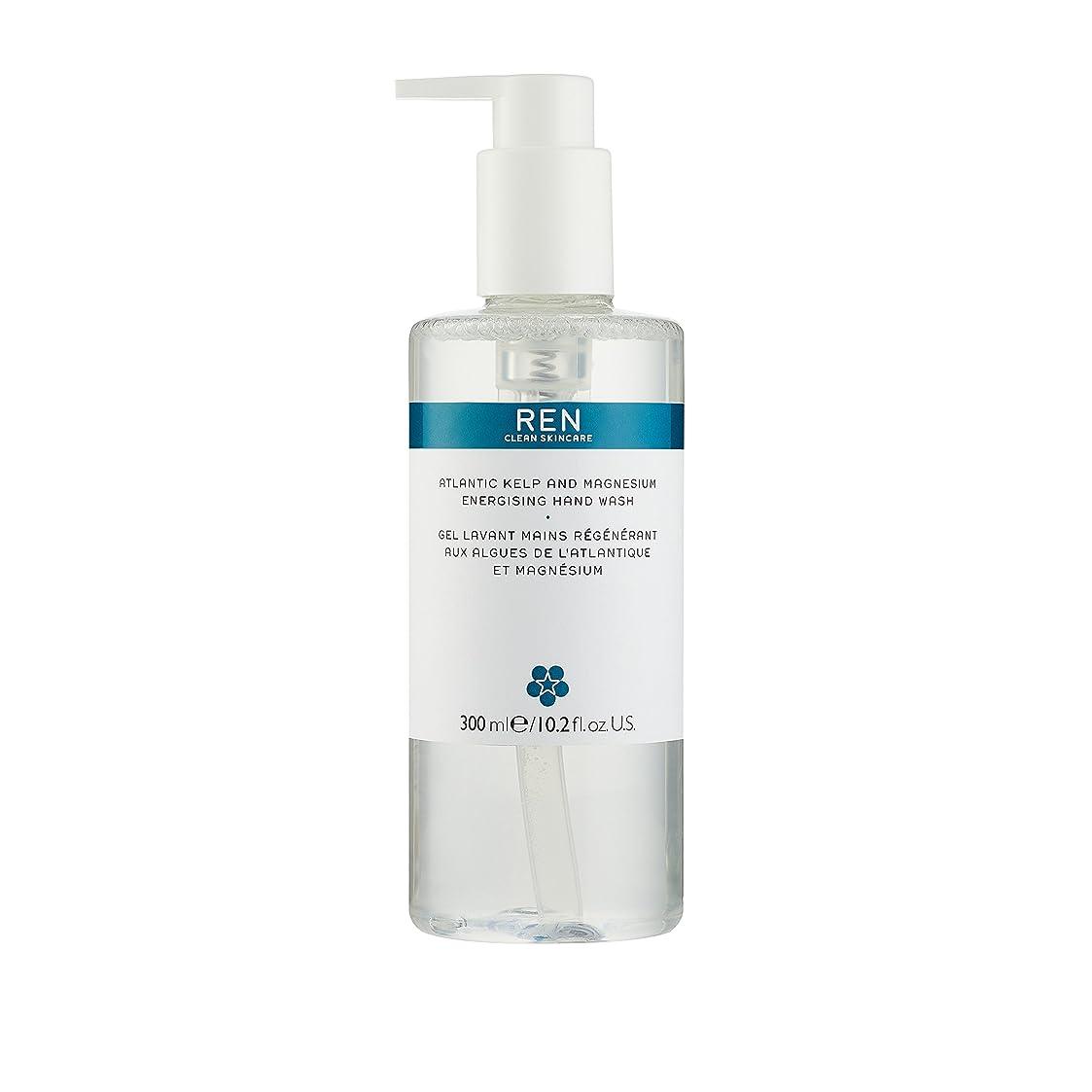 興奮する反対風が強いレン Atlantic Kelp And Magnesium Energising Hand Wash 42791/5312 300ml/10.2oz並行輸入品