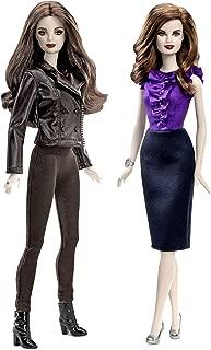 Twilight Bella & Esme Cullen Girls Vampire Collector Set Barbie Pink Label Toy Doll Figure Collectible Movie Merchandise