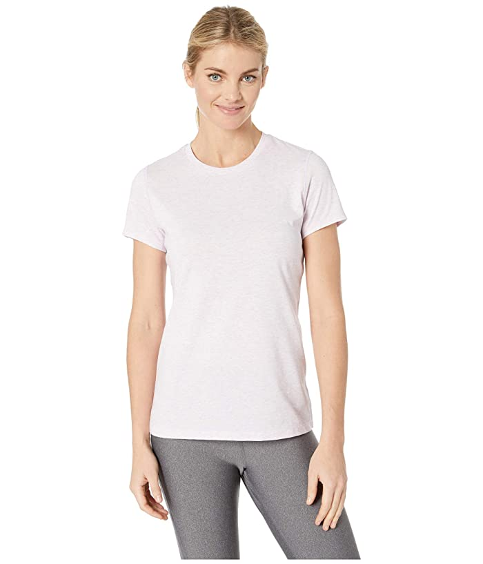 New Balance Heather Tech Tee (Violet Glo Heather) Women