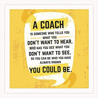 Coach Gifts for Men & Women   Original 7x7 Tile Artwork Ideal for Trainer   Appreciation Gift for Coach   Unique Present for Trainers   Special Home & Office Decorative Art