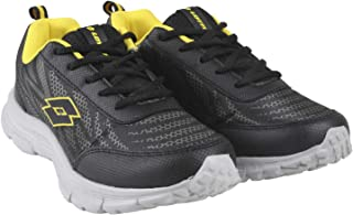 Lotto Men's Callisto Grey/Blk/Yellow Running Shoes-7 UK/India (41 EU) (8907181791388)