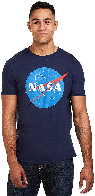 Nasa Circle Logo Camiseta para Hombre