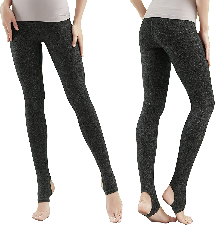 LOVESOFT Leggings Women Crisscross Stirrup Tights Gym Yoga Workout Pants