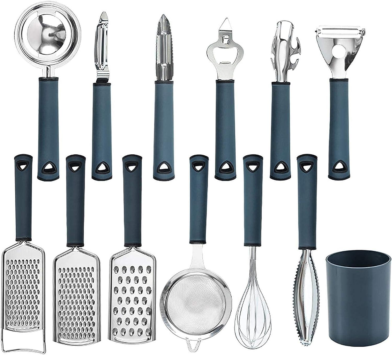 LIYOUPIN Stainless steel Kitchen Utensils Max 80% OFF Set Ut Pcs Denver Mall 13