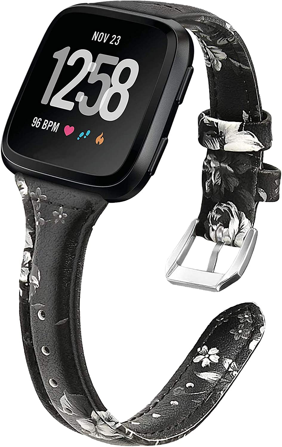 Max 90% OFF EZCO Leather Bands Compatible Versa with 2 Fitbit Max 40% OFF