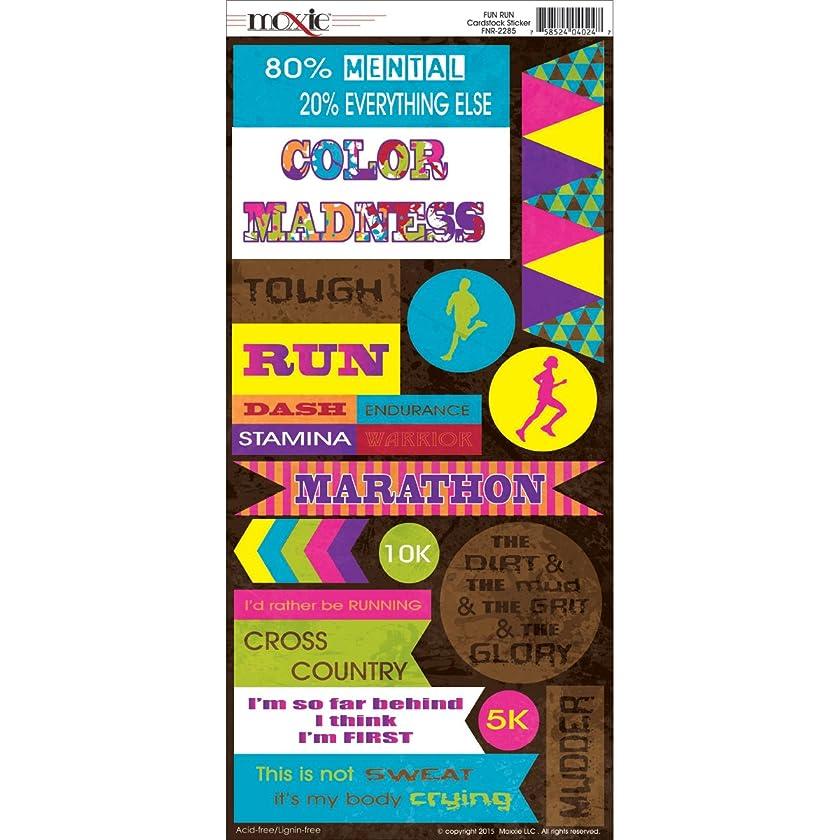 Moxxie Fun Run Cardstock Stickers