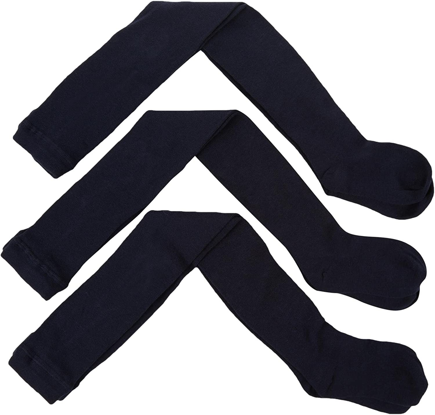 Jefferies Little Boys' 3 Pack Seamless Tights (Toddler/Kid) - Navy - 2-4 Years