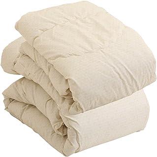 昭和西川 ◆クーポン付き◆ 1年中使える ボリューム 掛け布団 365日 使える 洗える 新生活 身体にフィット やわらかな肌触り ボリュームタイプ 2枚合わせ シングル ベージュ 2210252700230