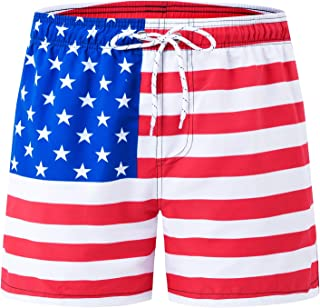 Men's Swim Trunks Quick Dry Bathing Suit Beach Shorts
