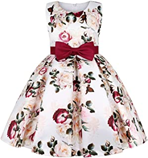 Eledobby Little Girls Dresses Flower Girls Party Pageant Dress