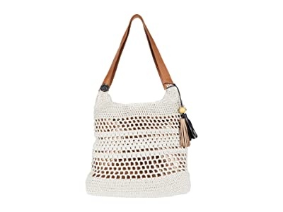 The Sak Huntley Crochet Hobo (Natural) Hobo Handbags