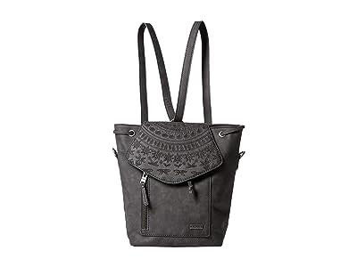 Roxy Like A River Backpack (True Black) Backpack Bags