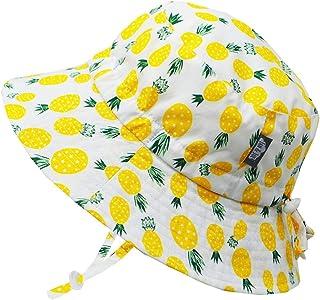 Jan & Jul Girls' Wide Brim UV Protection 50 Cotton Sun Hats for Summer, Good Fit, Size Adjustable