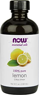 Now Foods Essential Oil, Lemon, 4 Fluid Ounce (Pack of 2)