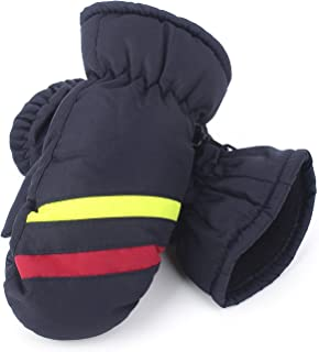 Flammi Kids Winter Ski Mittens Water Resistant Fleece-lined Mittens