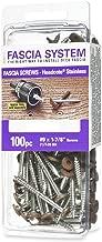 Headcote Stainless Steel Fascia Screws 9 x 1-7/8