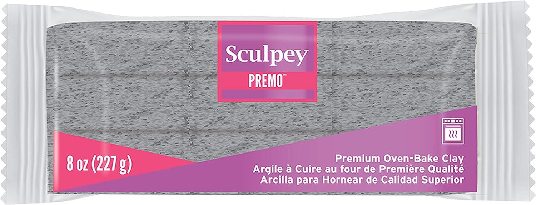 Sculpey Premo Polymer Oven-Bake Sale item Miami Mall Clay Non Gray 8 Toxic Granite